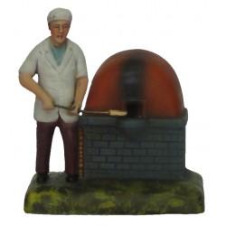 Padeiro com forno