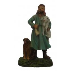 Pastora com cão e ovelha...
