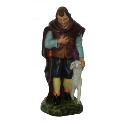 Pastor com ovelha