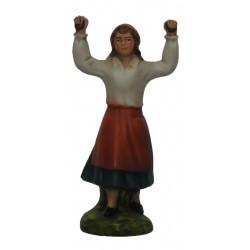 Dançarina braços no ar